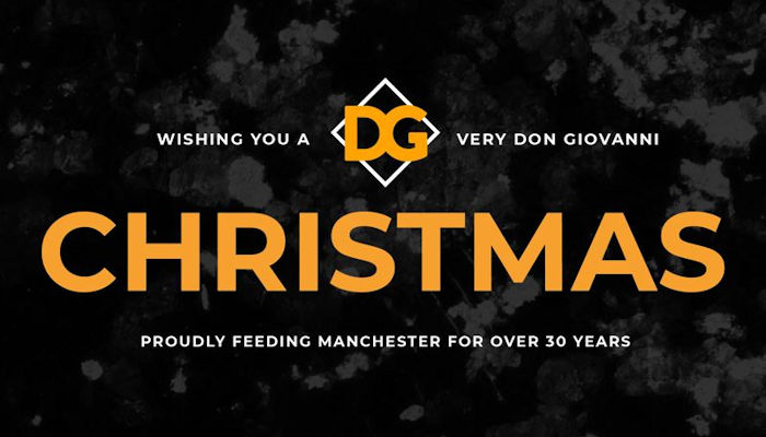 Christmas 2019 Offers Restaurants in Manchester ~ Don Giovanni