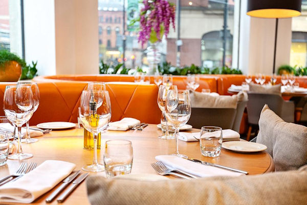 Restaurants near Manchester Royal Exchange ~ Don Giovanni Manchester