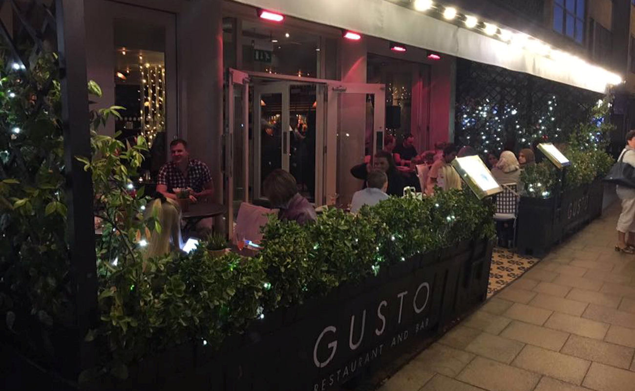 Gusto Didsbury Manchester