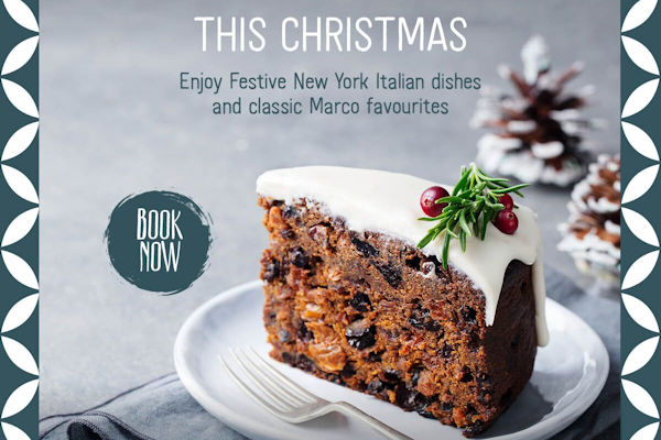 Christmas 2019 Offers Restaurants in Manchester ~ Marco's New York Italian