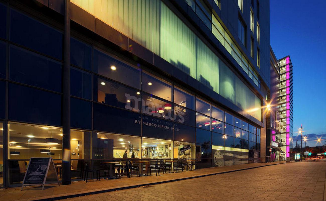 Manchester Restaurants -Marco's New York Italian MediaCityUK