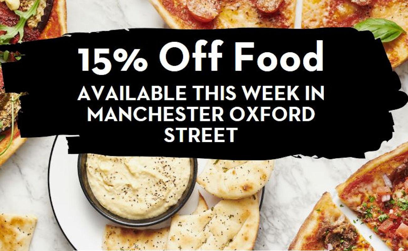 Pizza Express Oxford Street - Manchester