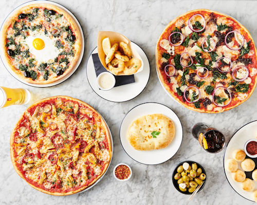 Pizza restaurants in Manchester ~ Pizza Express Oxford Street
