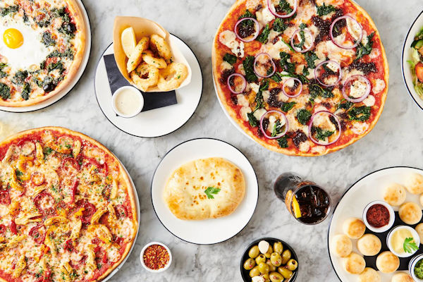 Restaurants of Manchester Mother's Day ~ Pizza Express