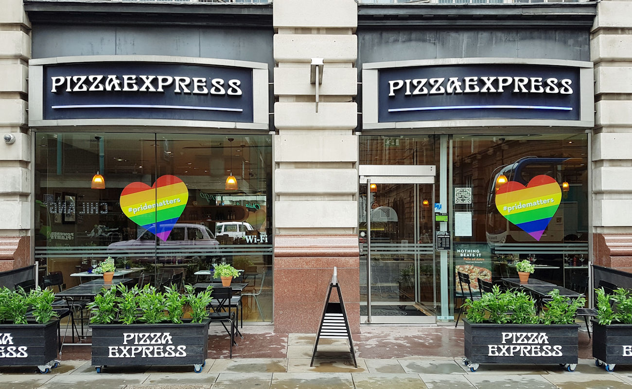 Manchester Restaurants - Pizza Express Manchester