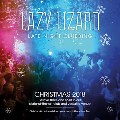 Christmas 2018 Offers Restaurants in Manchester -  Lazy Lizard Manchester