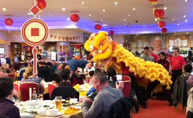 Chinese New Year in Manchester restaurants