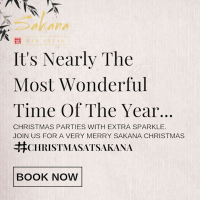 Christmas 2018 Offers Restaurants in Manchester - Sakana Manchester