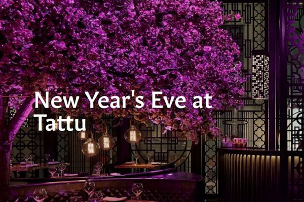 Manchester Bars New Year's Eve ~ Tattu
