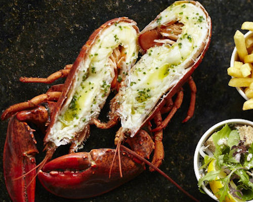 Restaurants near the Palace Theatre Manchester - Steak & Lobster Manchester