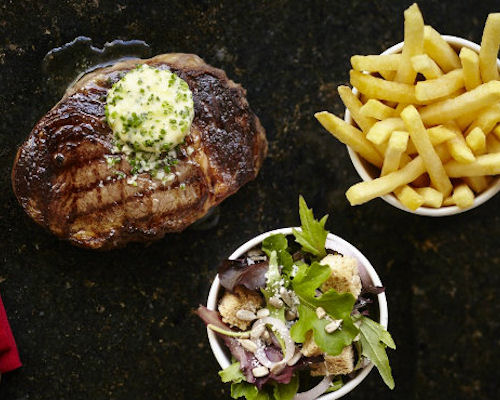 Restaurants near the Royal Exchange Manchester - Steak & Lobster Manchester