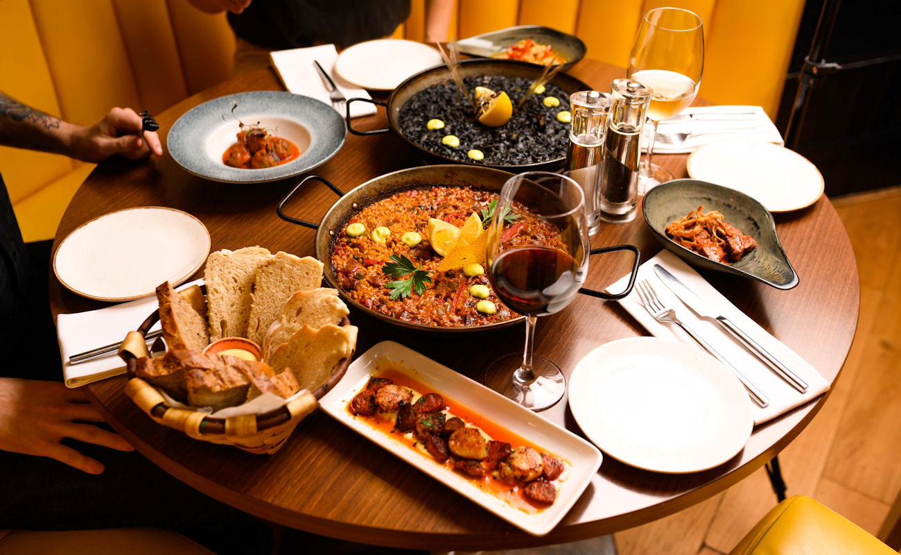 Best Spanish restaurants in Manchester ~ La bandera Manchester