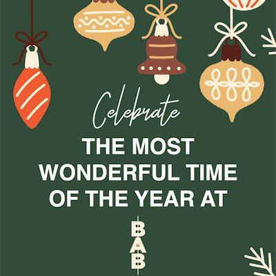 Christmas 2021 Offers Restaurants in Manchester - BAB Bar