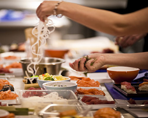 Sushi Making Class in Manchester